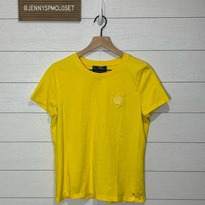 Ralph Lauren Yellow Active Tee Size Large